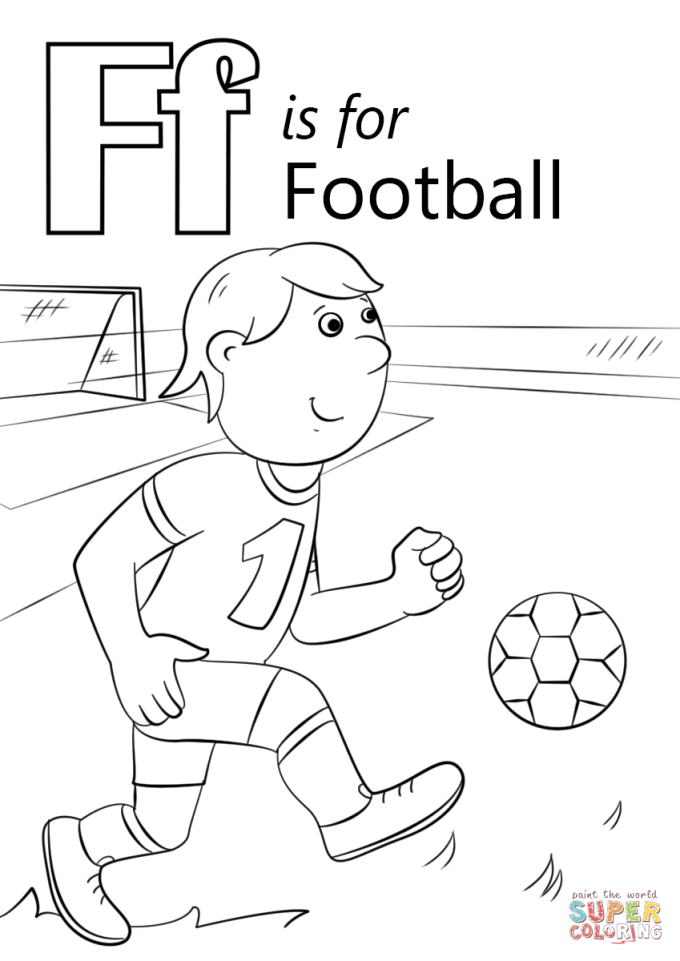 Football Drawing Template Images Free Templates Ideas