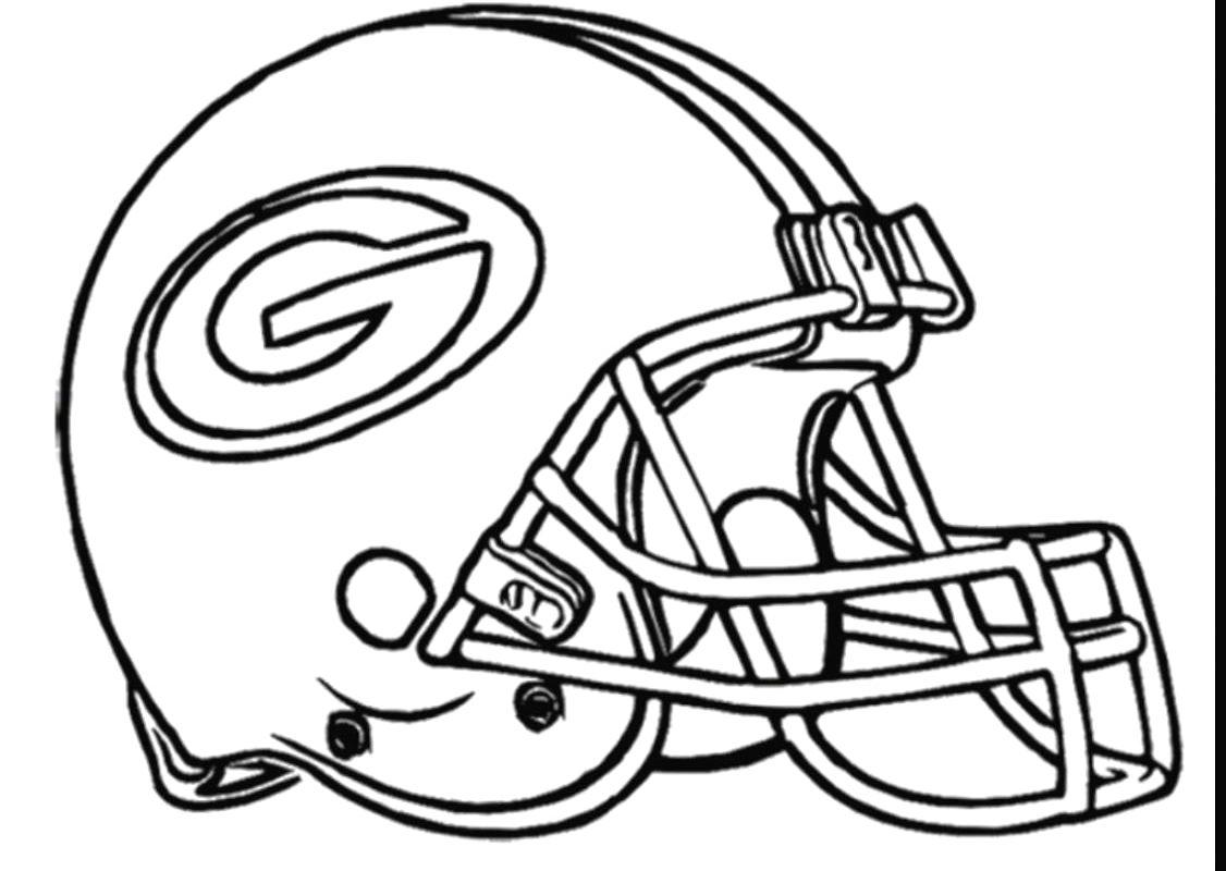 Football Helmet Drawing At Getdrawings