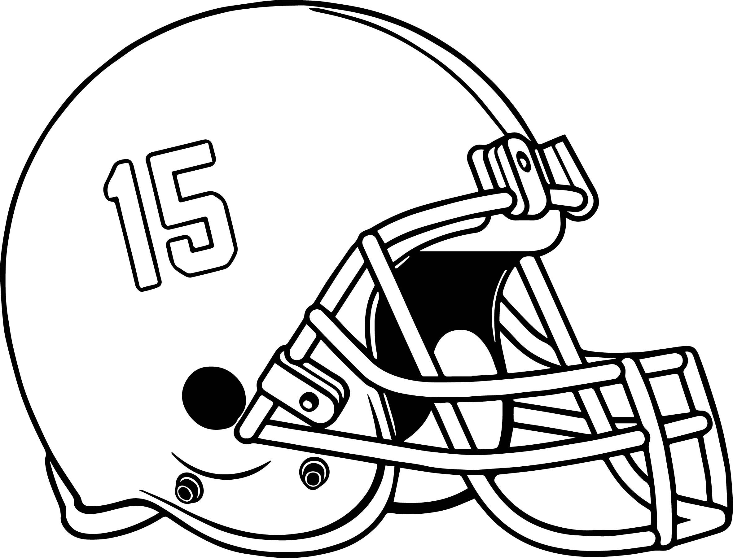 Football Helmets Drawing At Getdrawings