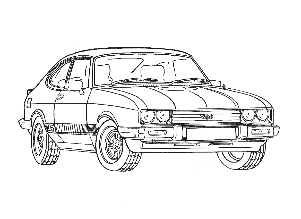 Ford Drawing At Getdrawings
