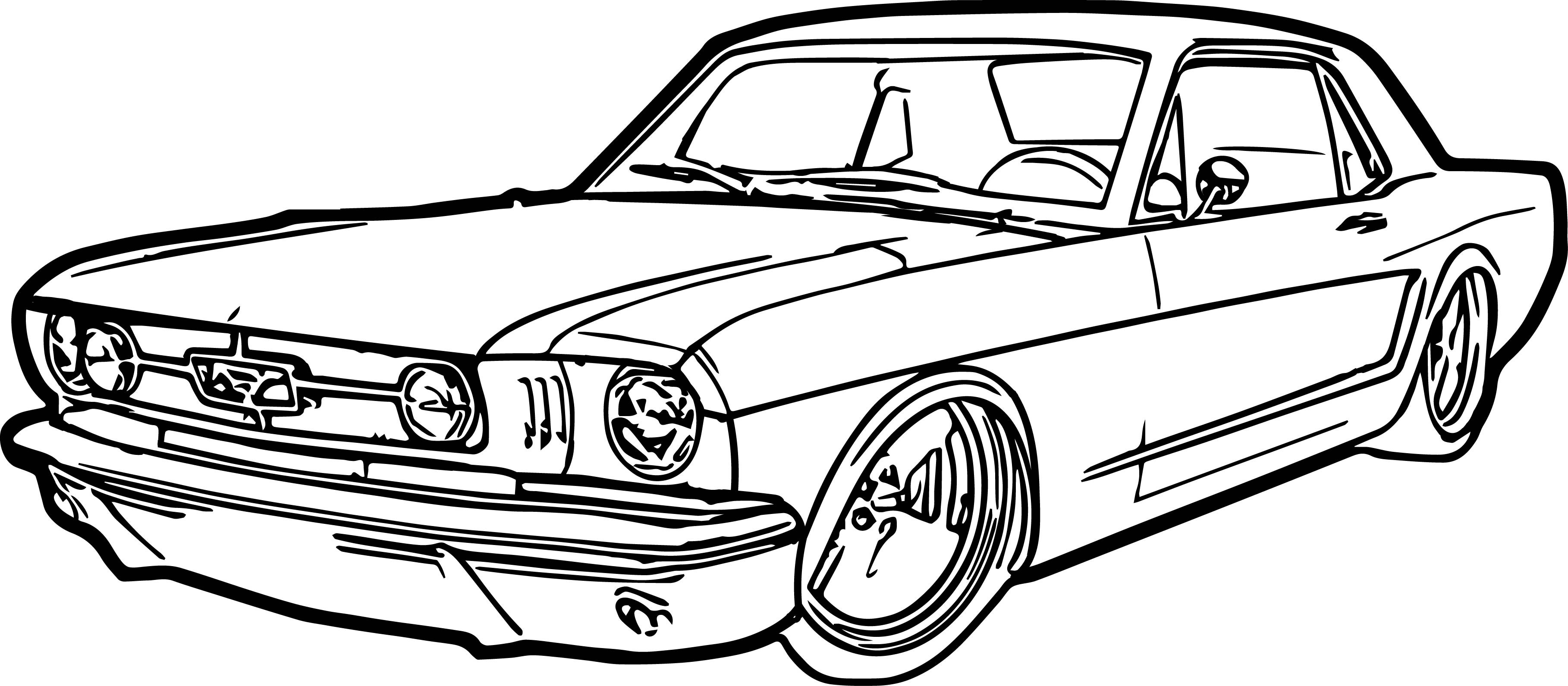 Ford Drawing At Getdrawings
