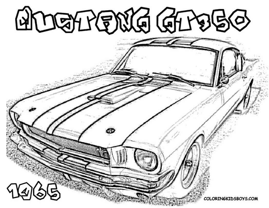 Ford Gt Drawing At Getdrawings