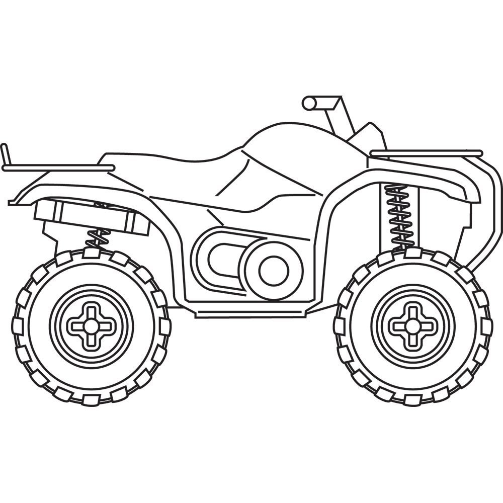 Four wheeler drawing at getdrawings free for personal use four