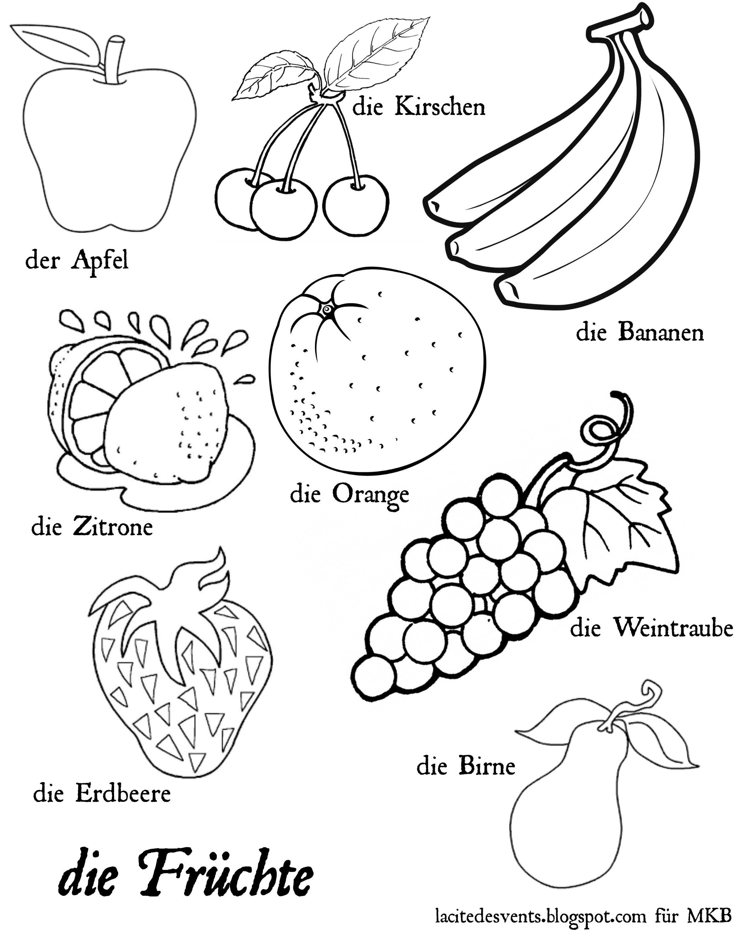 Fruits And Vegetables Drawing At Getdrawings