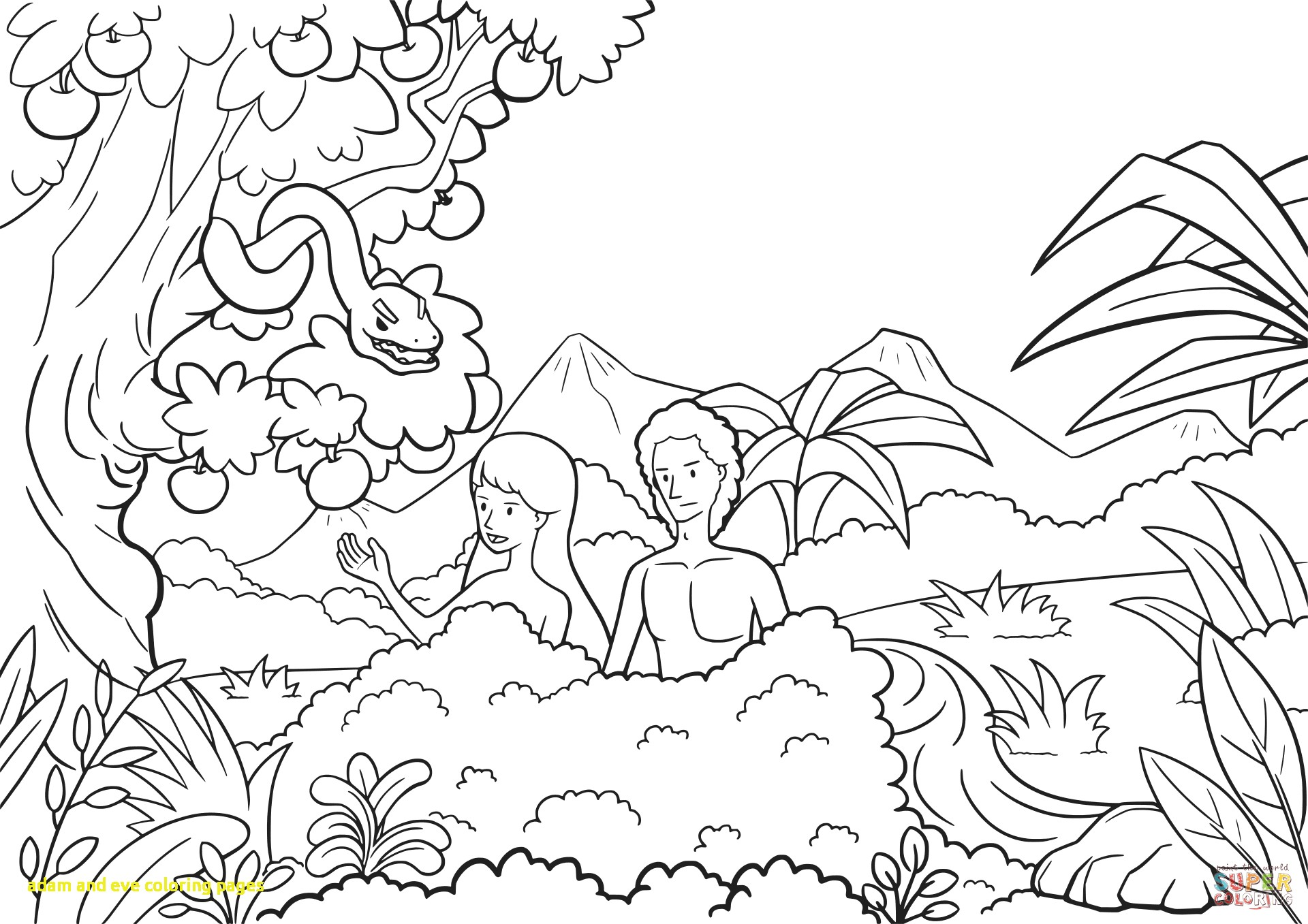 Garden Of Eden Drawing At Getdrawings