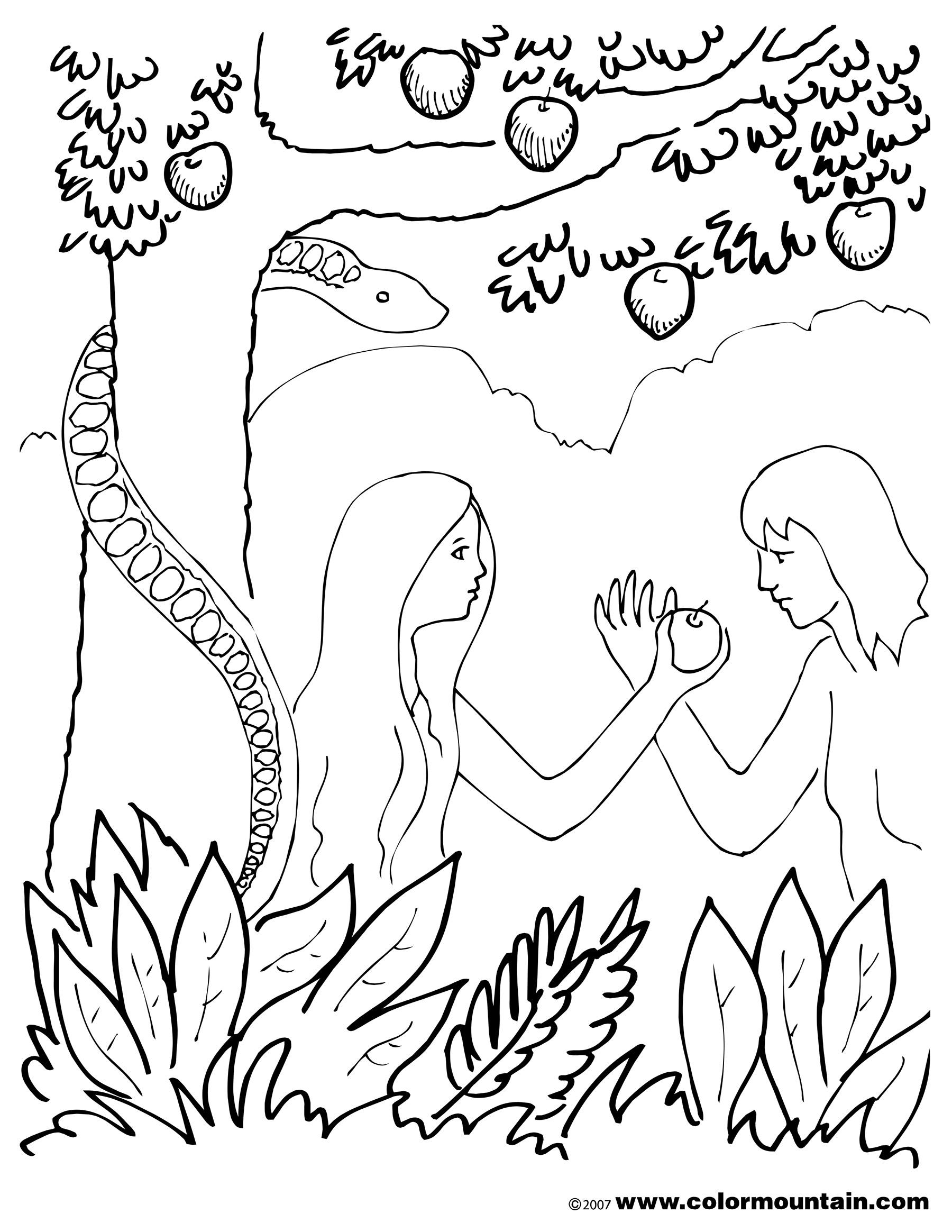 Garden Of Eden Drawing At Getdrawings