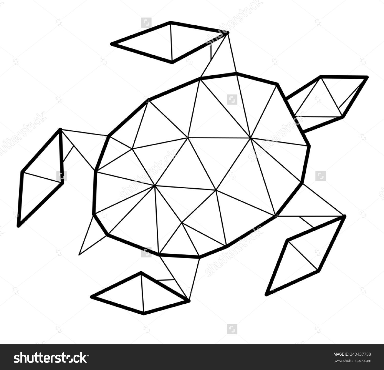 Geometrical Shapes Drawing At Getdrawings
