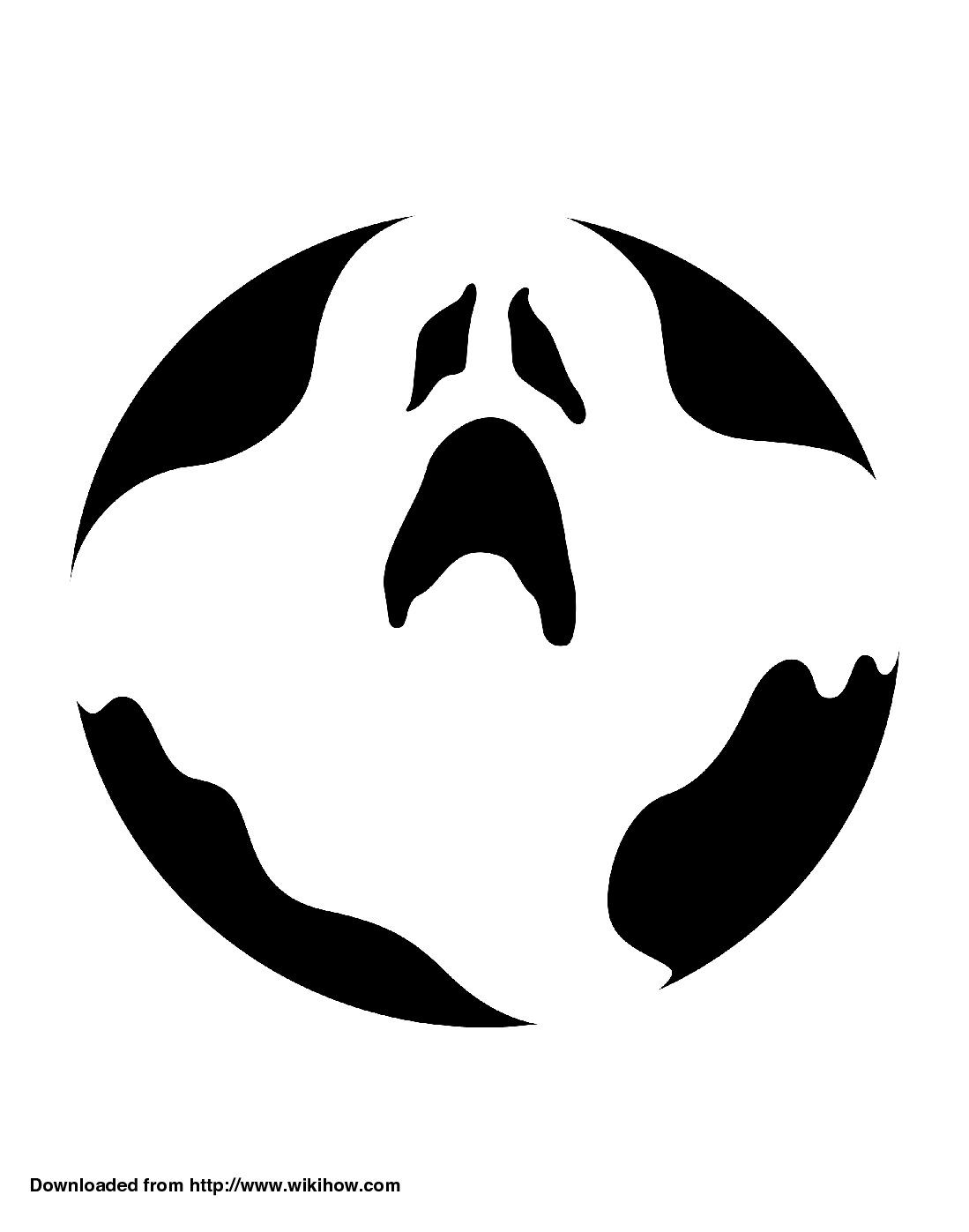 Ghost Faces Drawing At Getdrawings