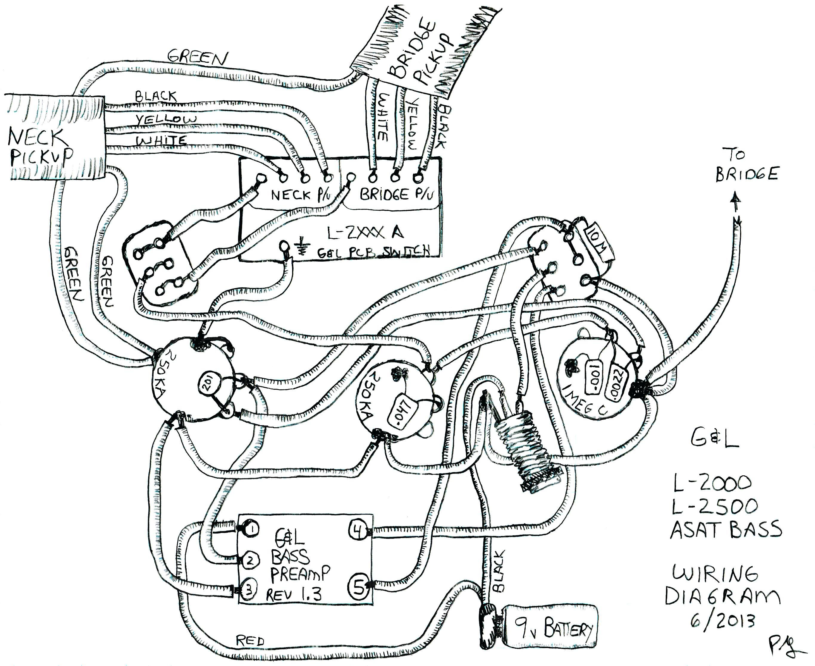 Epiphone Les Paul Custom 3 Pickup Wiring Diagram