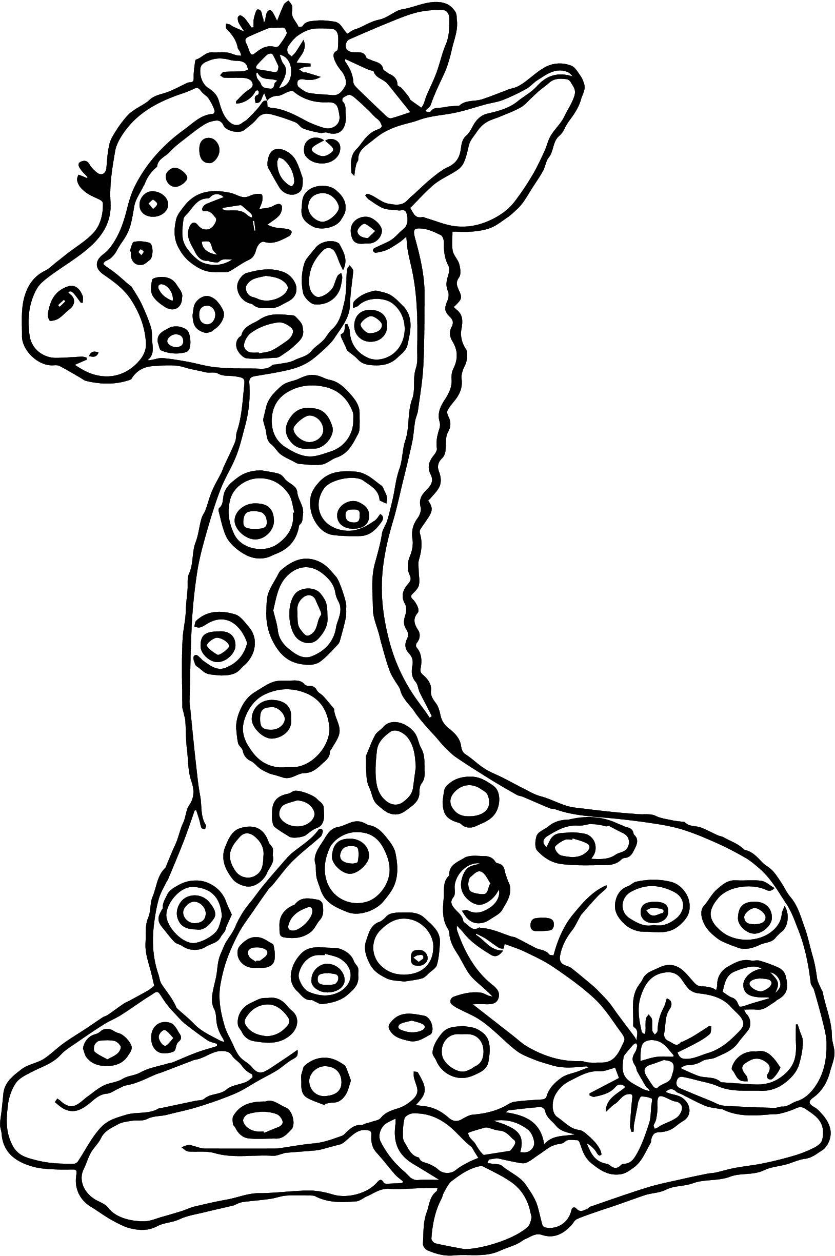 Giraffe Drawing For Kids At Getdrawings