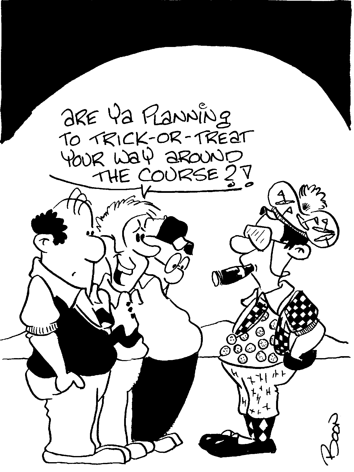 Golf Cart Cartoon Drawing At Getdrawings