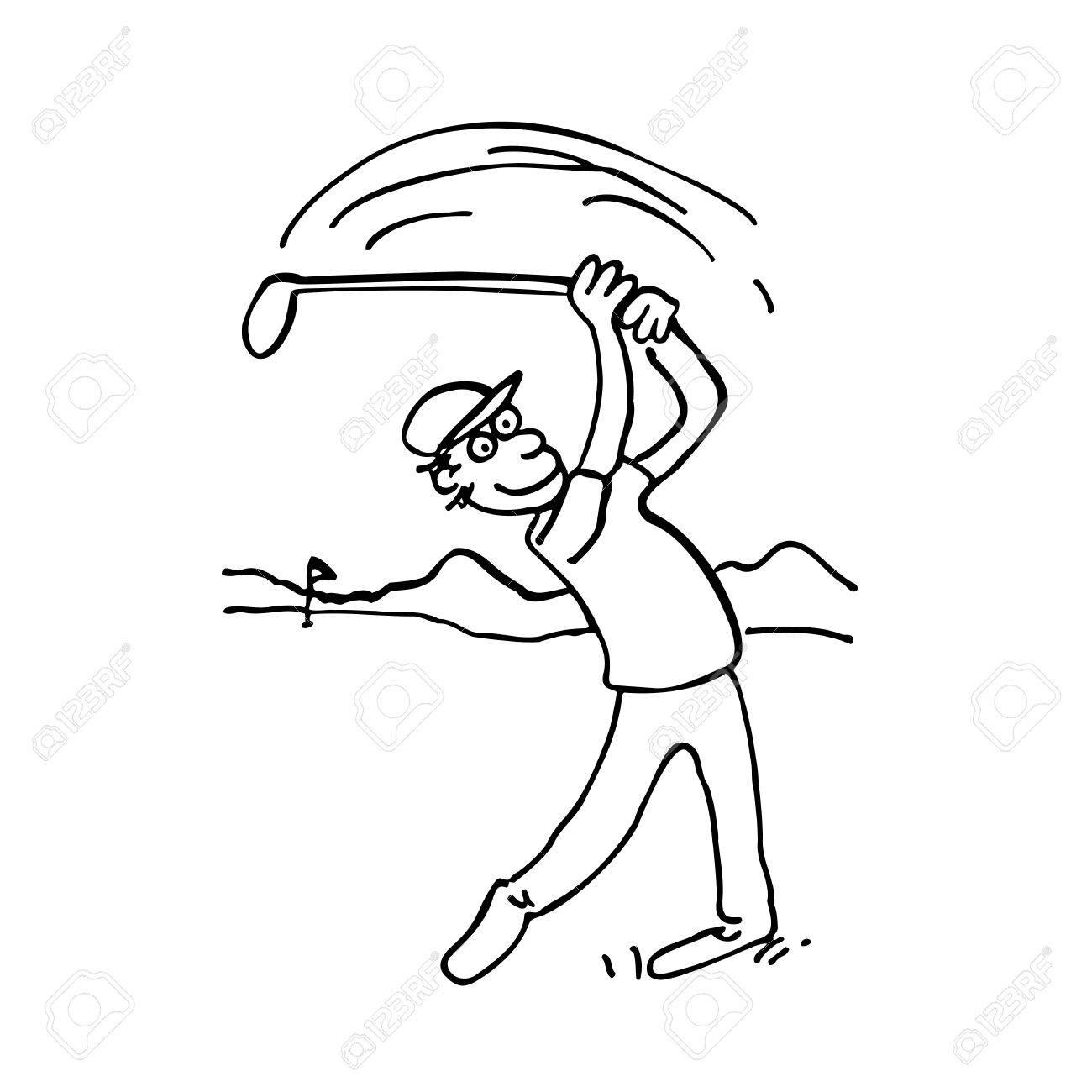 Golf Drawing At Getdrawings