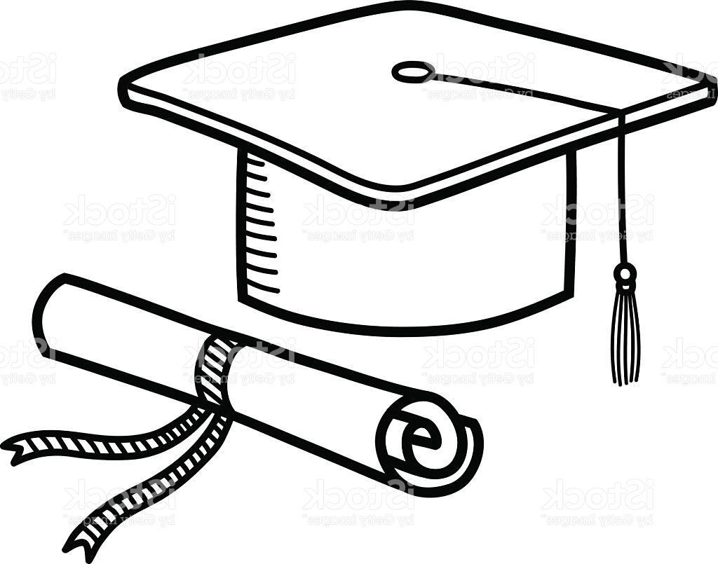 Graduation Cap Drawing At Getdrawings