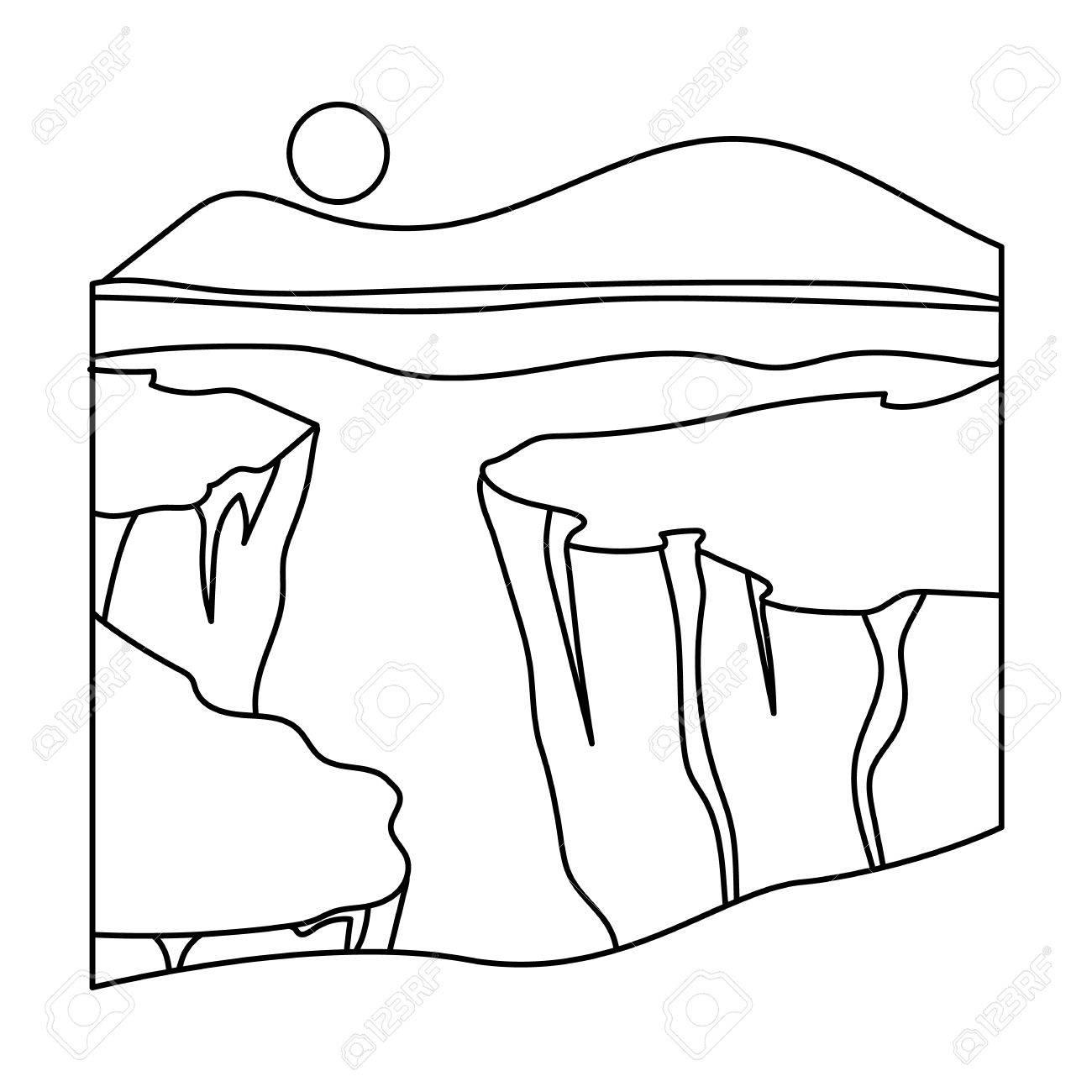 Grand Canyon Drawing At Getdrawings