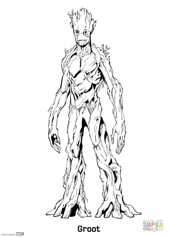 Groot Drawing at GetDrawings   Free download