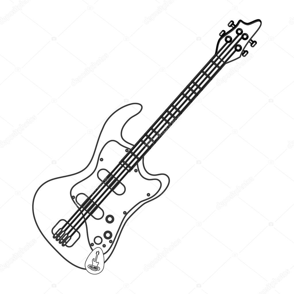 Guitar Neck Drawing At Getdrawings
