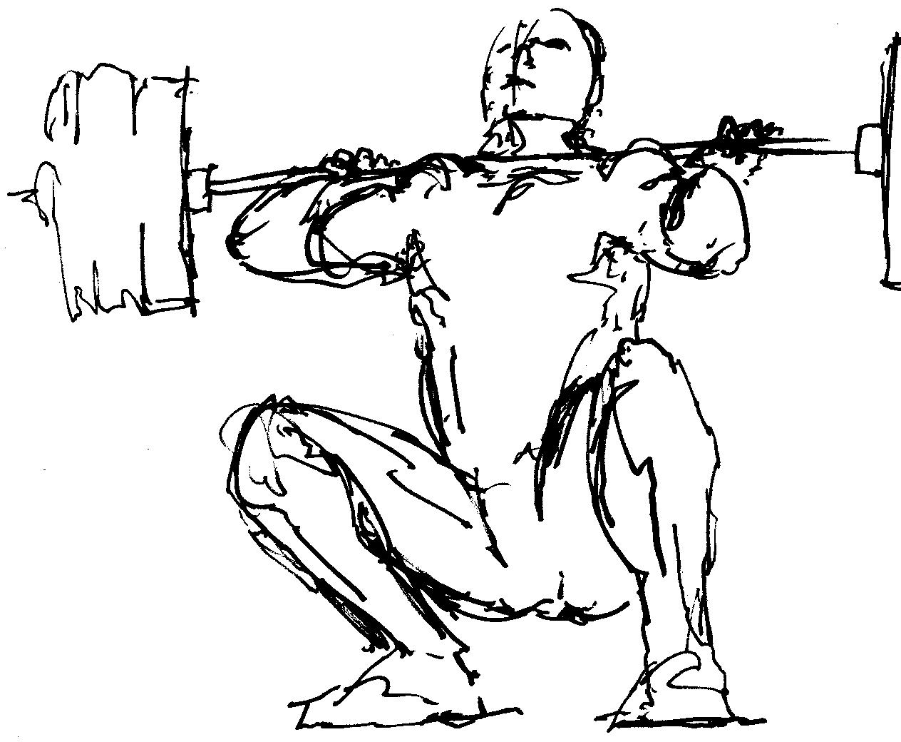 Gym Equipment Drawing At Getdrawings