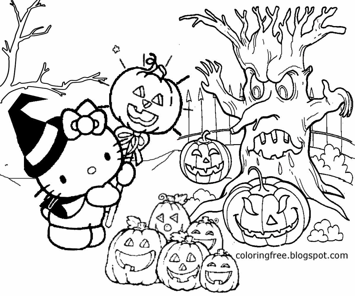 Halloween Cartoon Drawing At Getdrawings