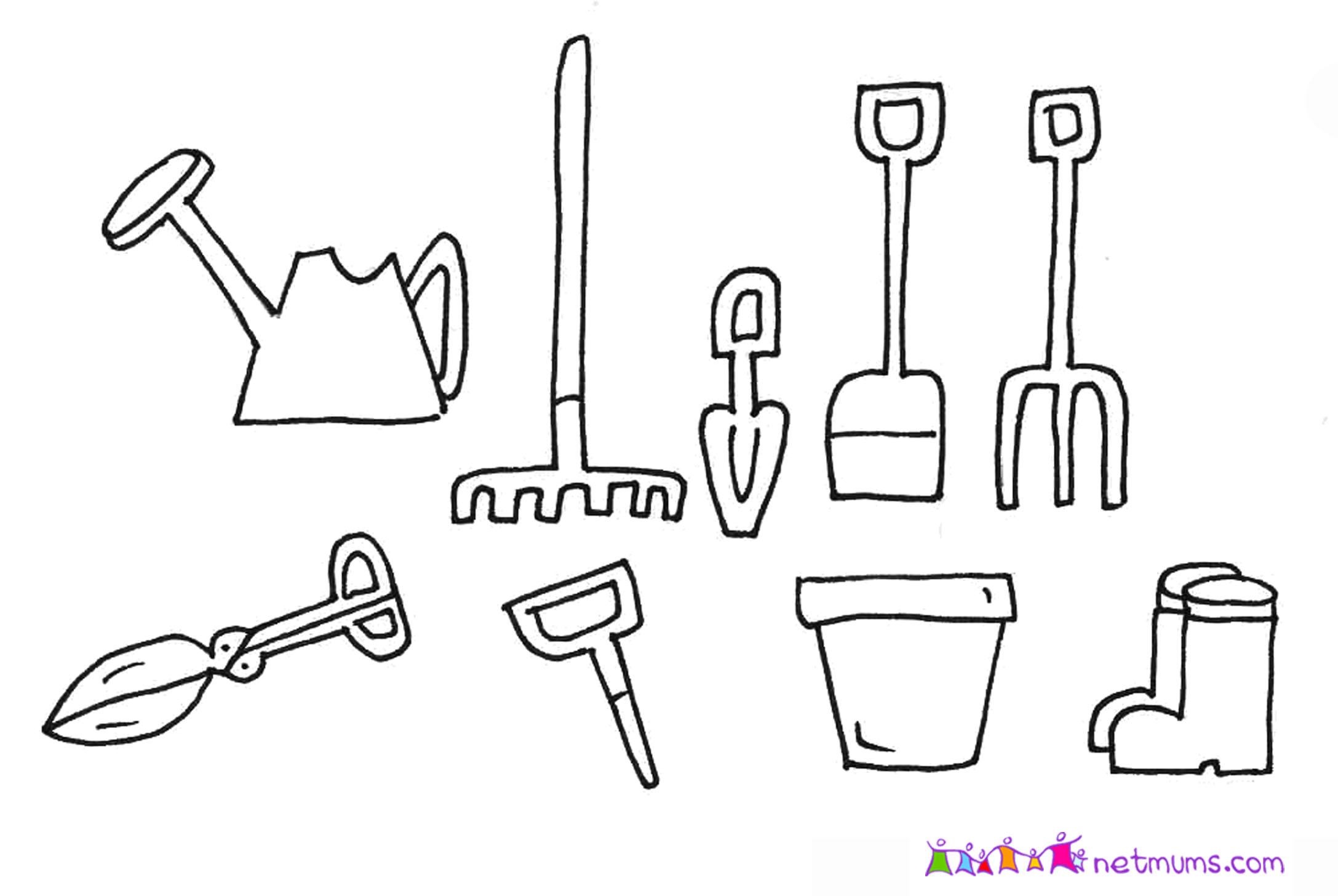 Hand Tools Drawing At Getdrawings