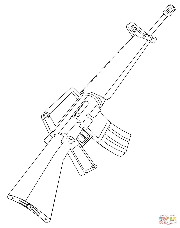 Handgun Drawing At Getdrawings
