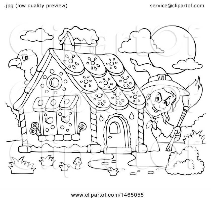 hansel and gretel drawing at getdrawings  free download