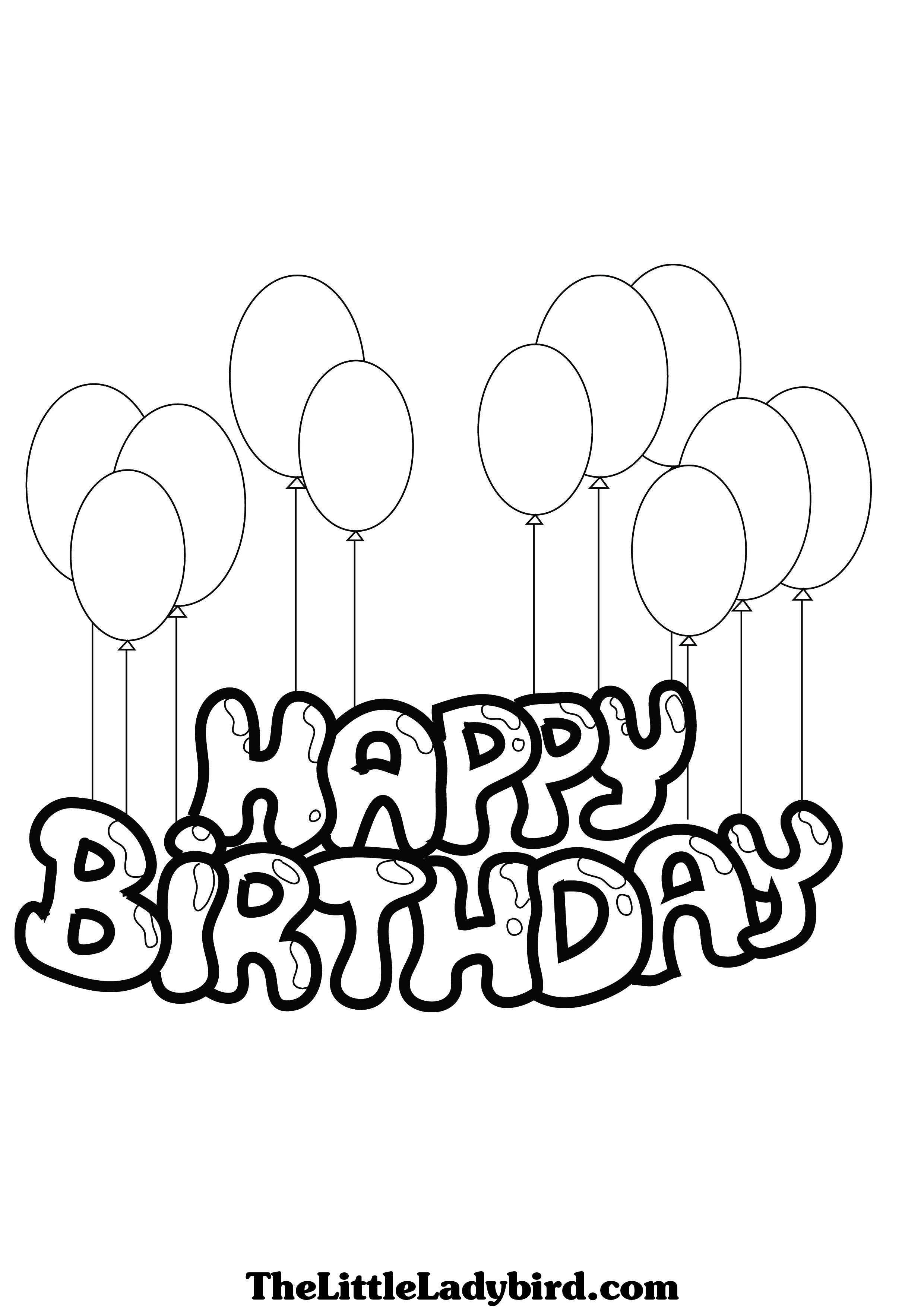 Happy Birthday Drawing Images At Getdrawings