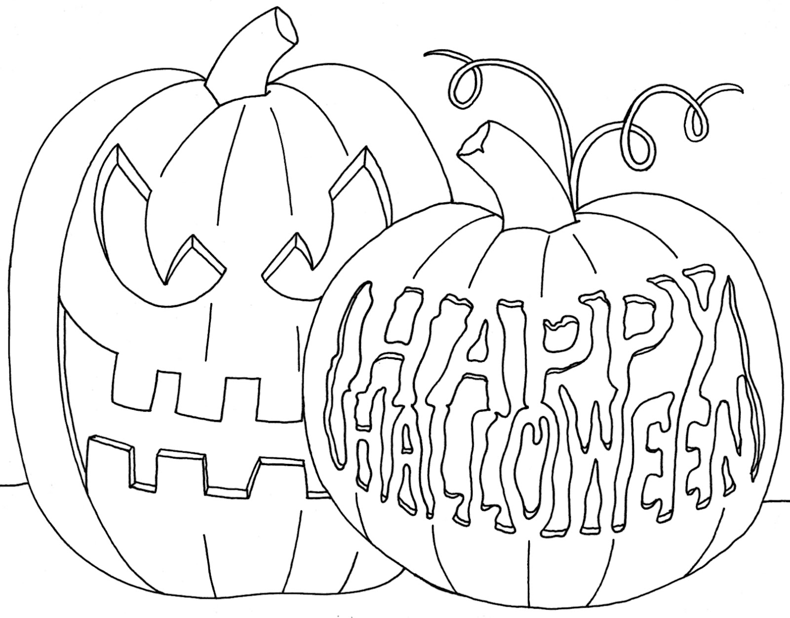 Happy Halloween Drawing At Getdrawings