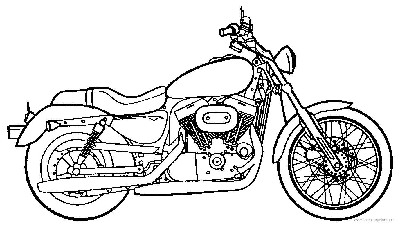 Harley Davidson Drawing At Getdrawings