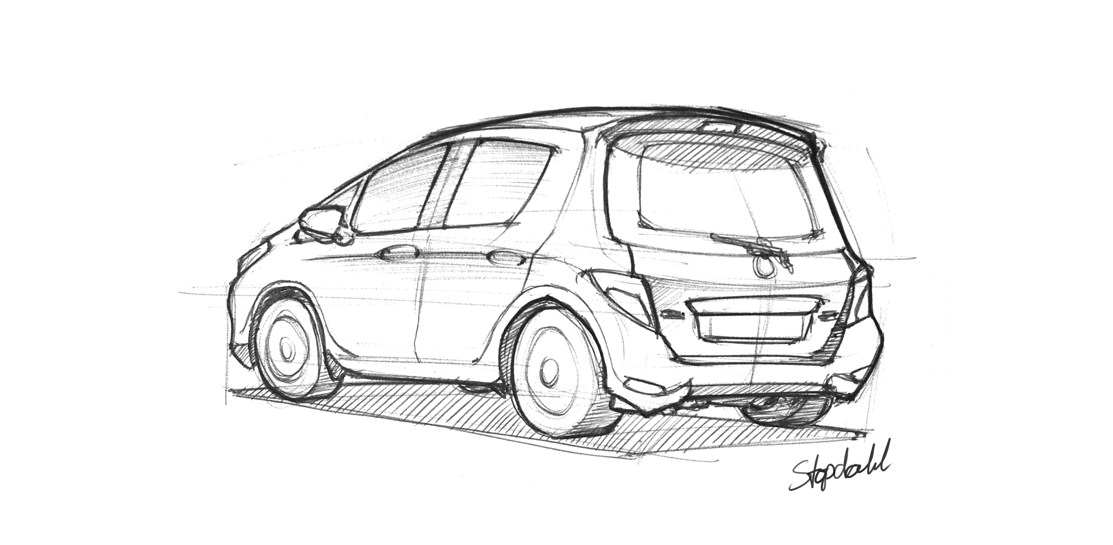 The Best Free Vehicle Drawing Images Download From 378