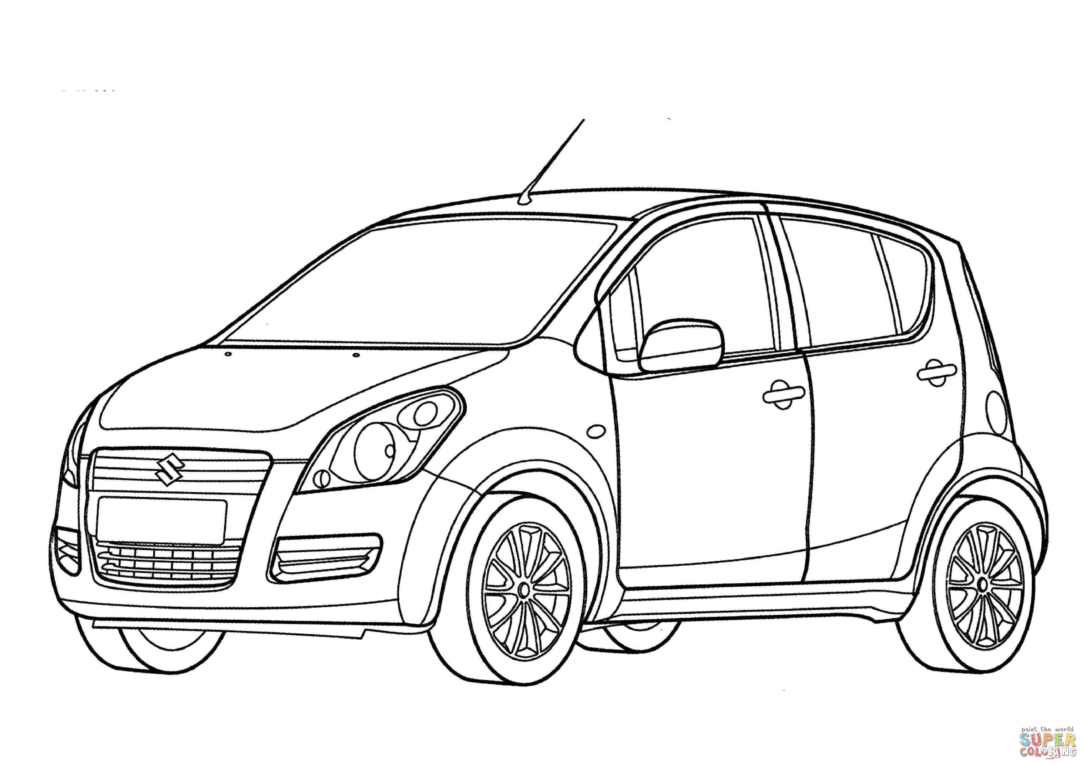 Hatchback Drawing At Getdrawings