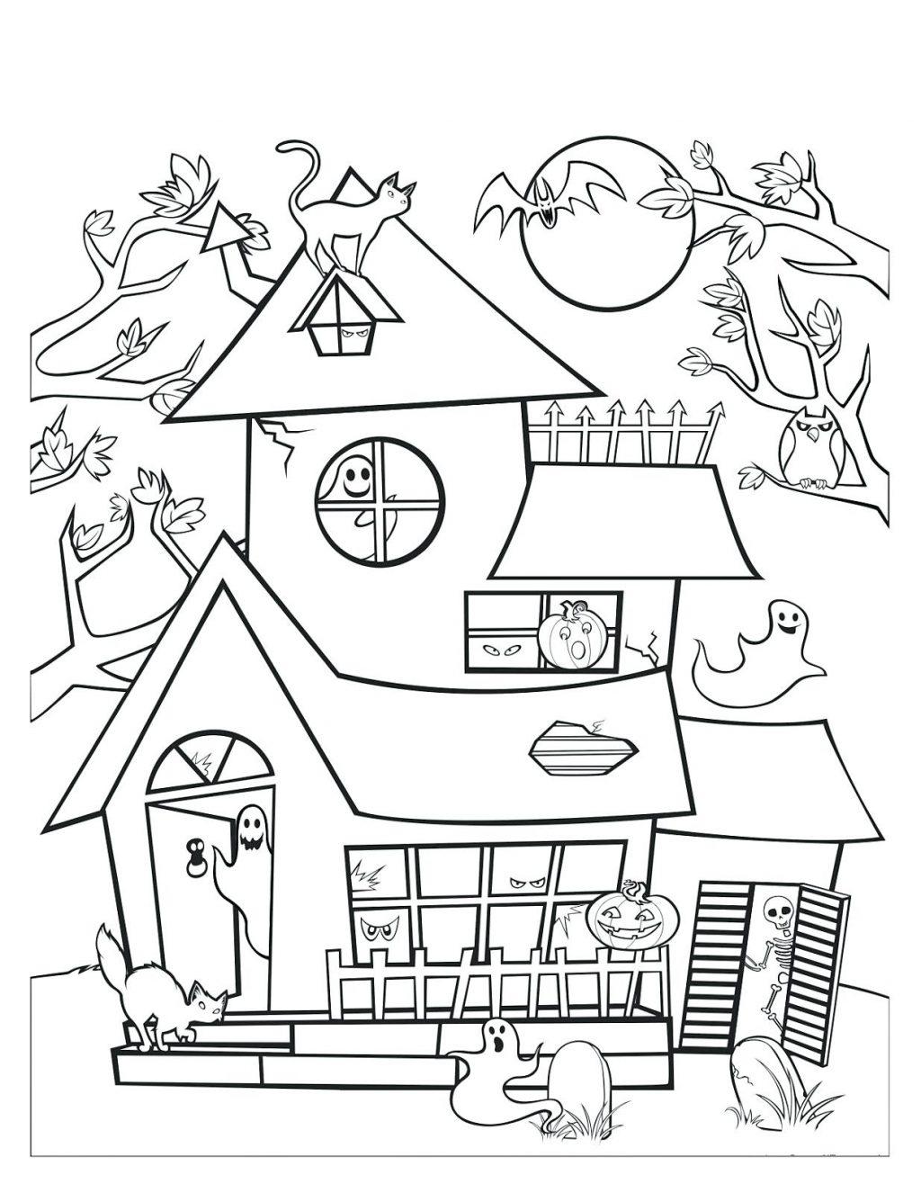 Haunted Mansion Drawing At Getdrawings