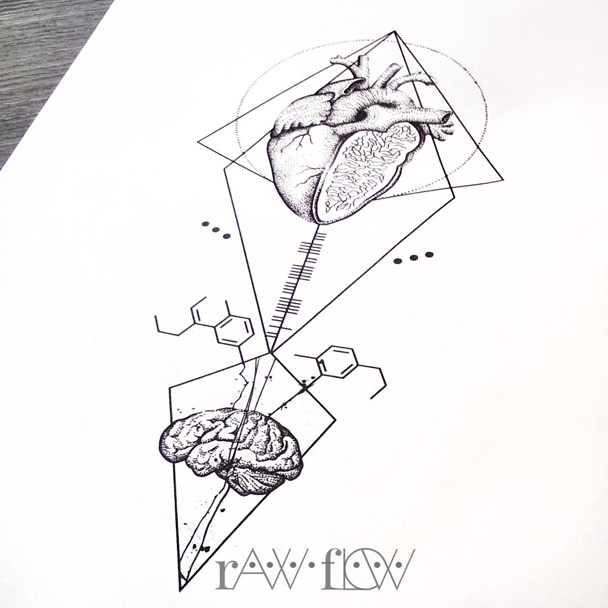Heart Diagram Drawing At Getdrawings