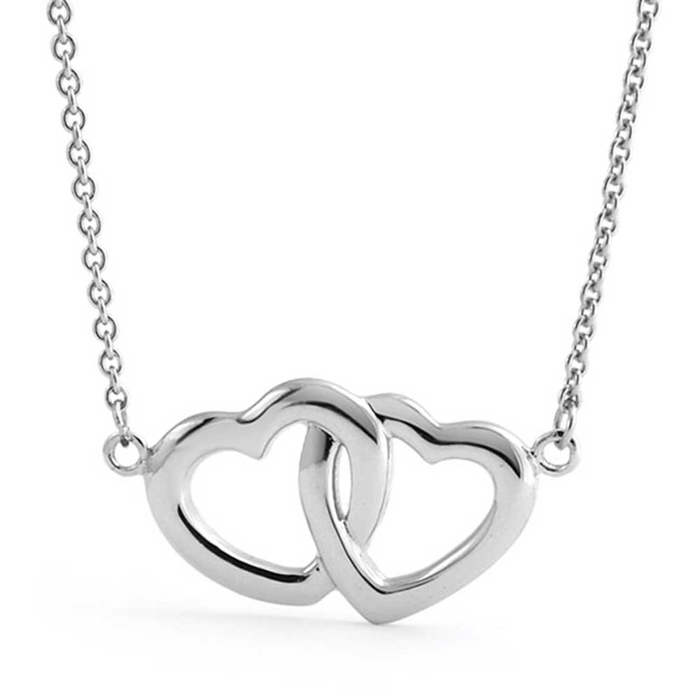 Heart necklace drawing