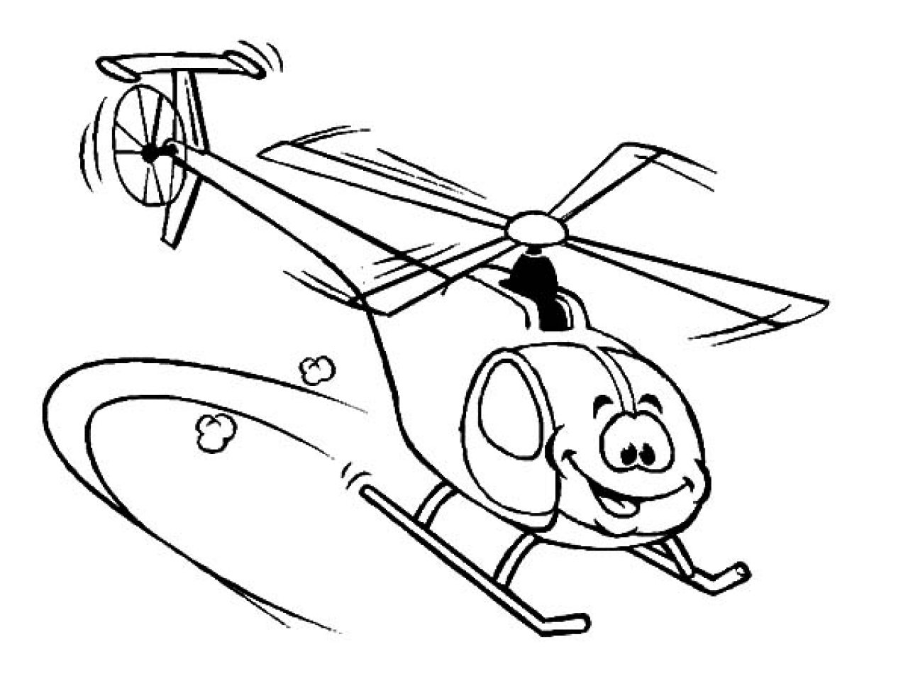Helicopter Drawing For Kids At Getdrawings