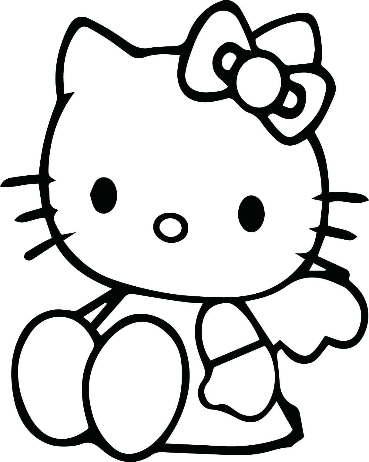 Hello Kitty Drawing Picture At Getdrawings