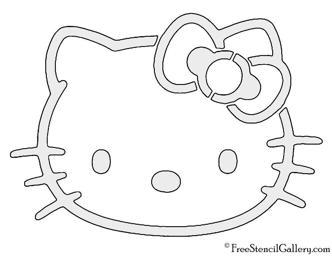 Hello Kitty Face Drawing At Getdrawings