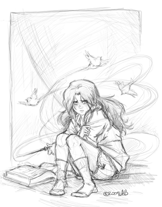 hermione granger drawing at getdrawings  free download