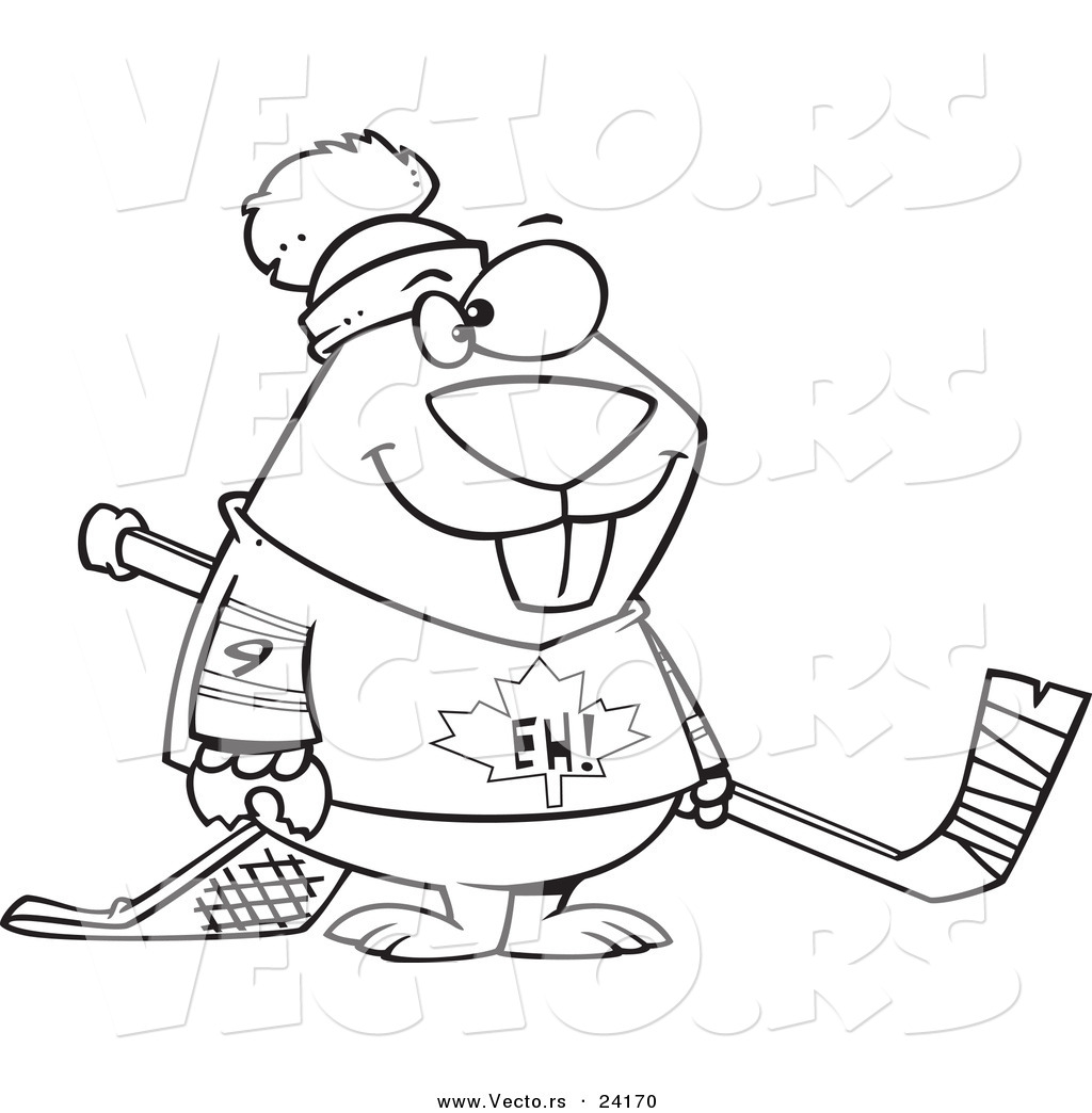 Hockey Stick Drawing At Getdrawings
