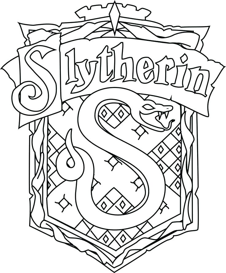 hogwarts crest drawing at getdrawings  free download