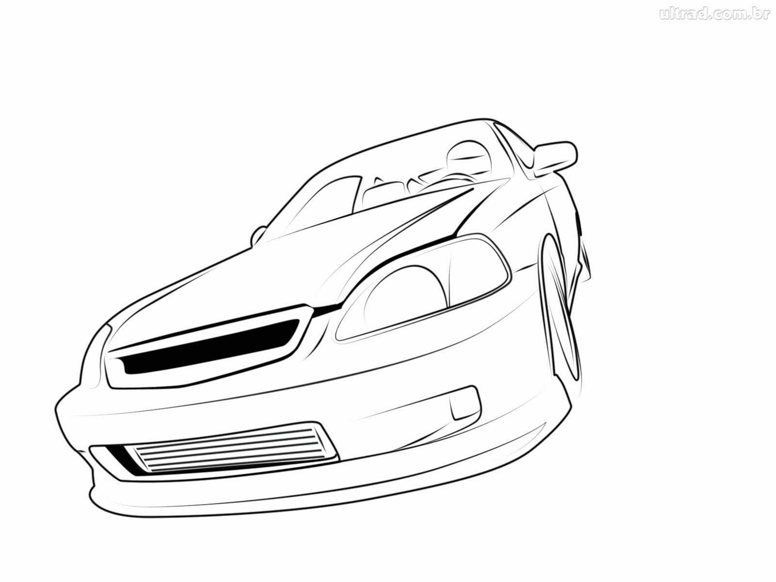 Honda Drawing At Getdrawings