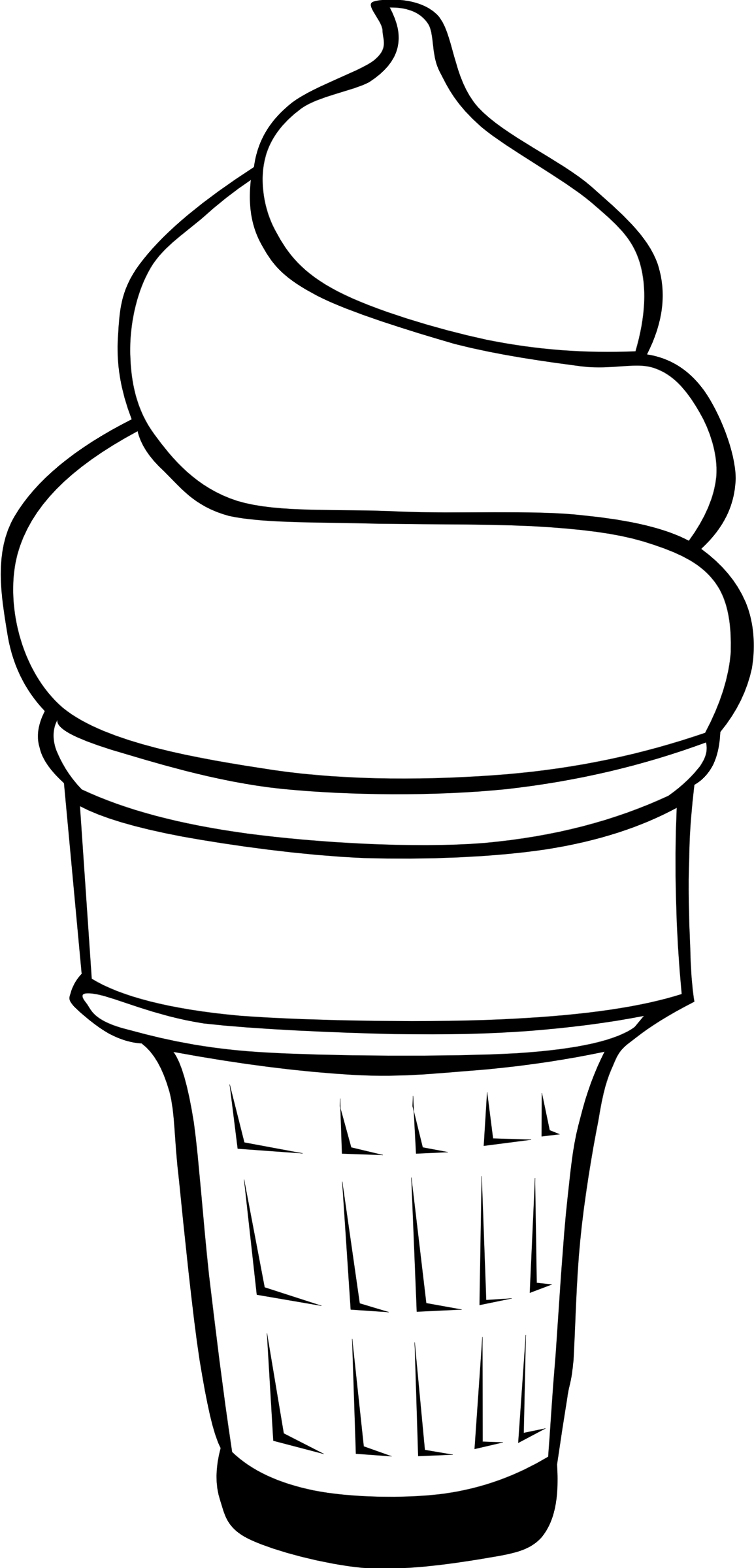 Ice Cream Cone Line Drawing At Getdrawings