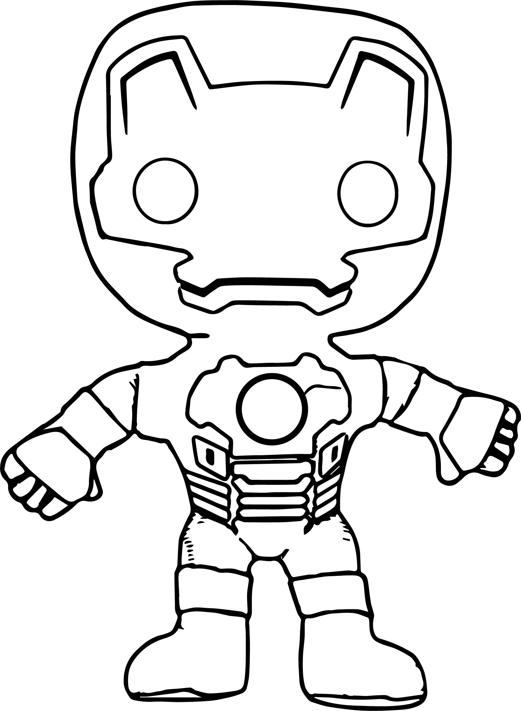 Iron Head Coloring Pages