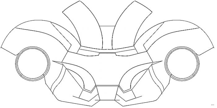 Download Free Template Iron Man Suit Pdf Template Free Template