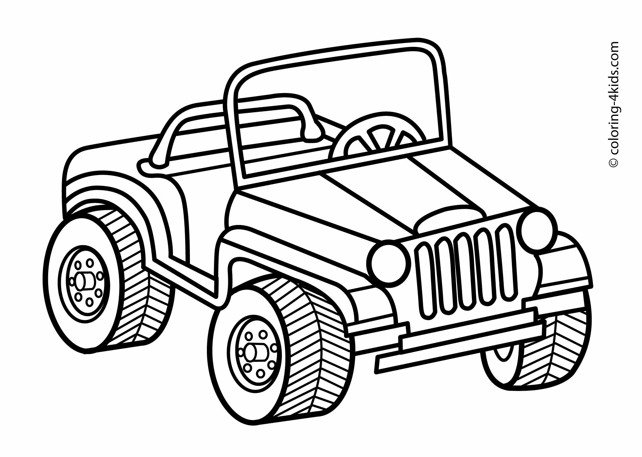 Jeep Line Drawing At Getdrawings
