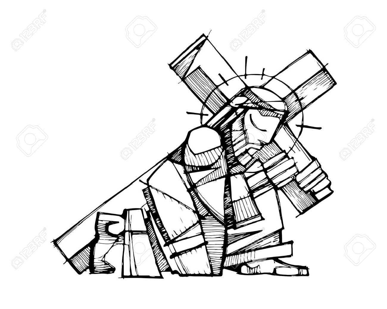 Jesus Drawing Images At Getdrawings