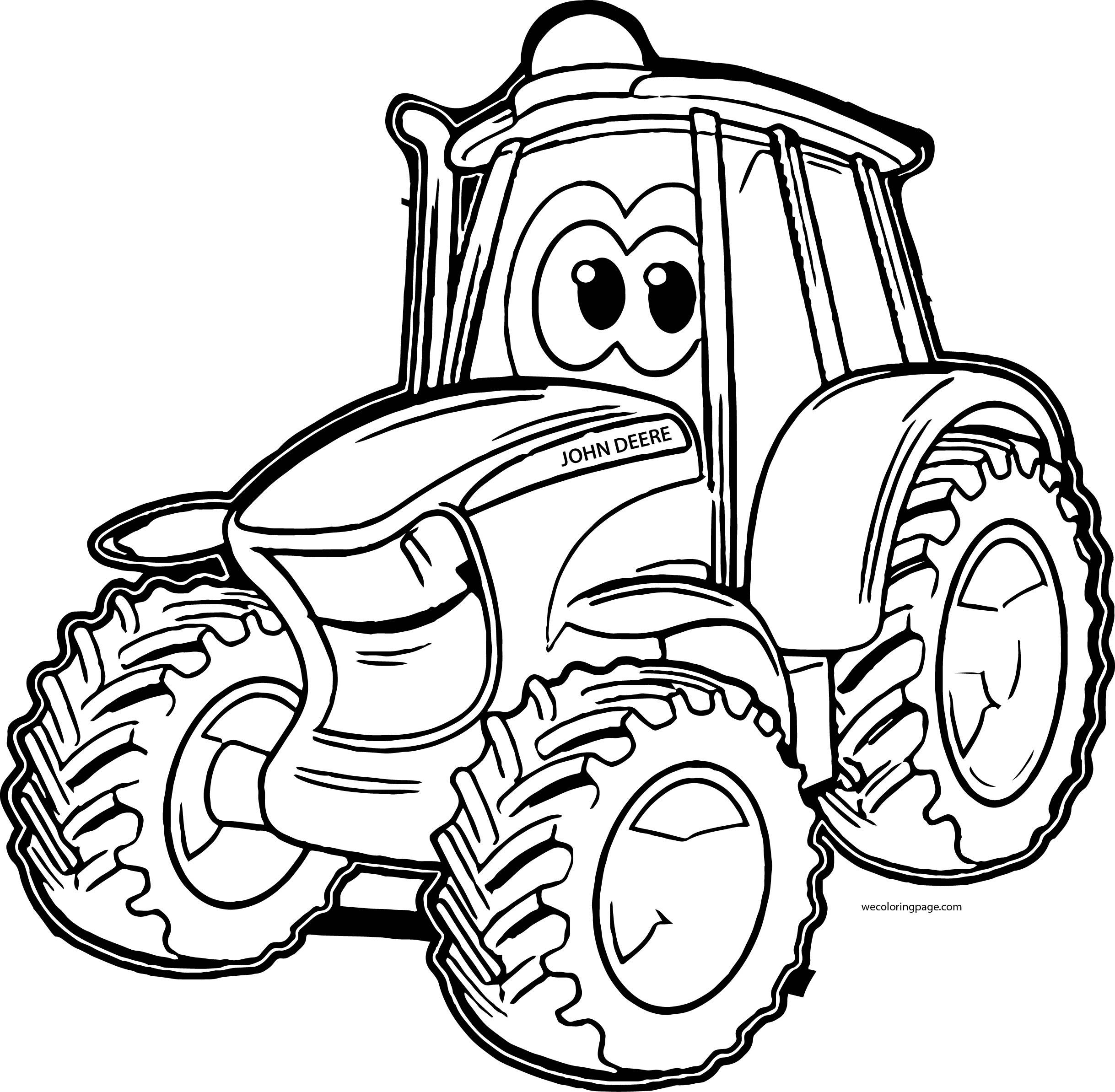 John Deere Tractor Drawing At Getdrawings
