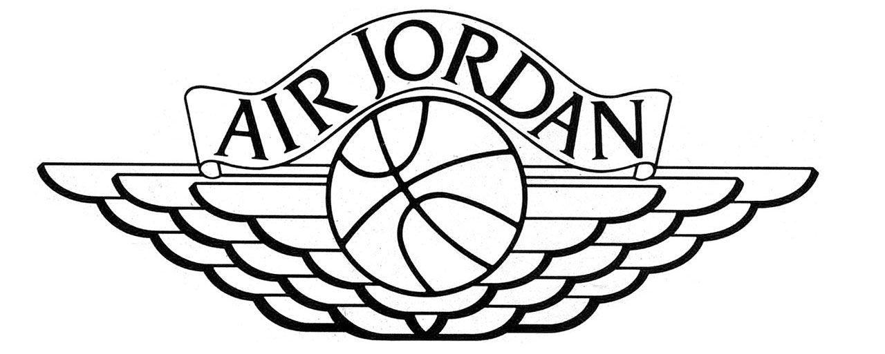 Superb Jordan Logo Drawing At Getdrawings Com Free For Personal Use
