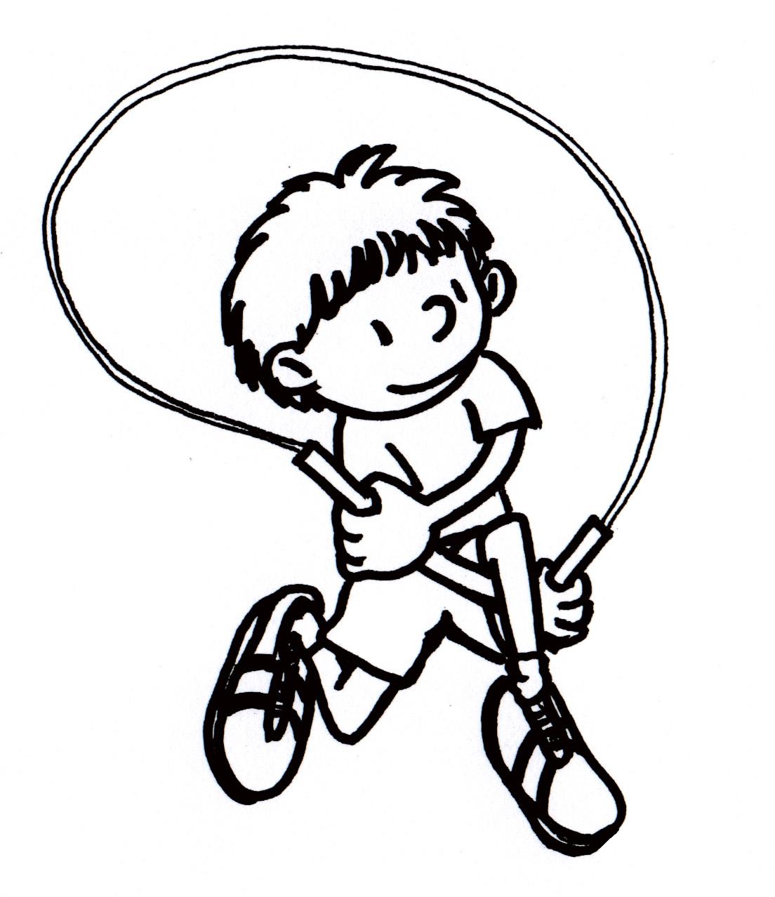 Jump Rope Drawing At Getdrawings