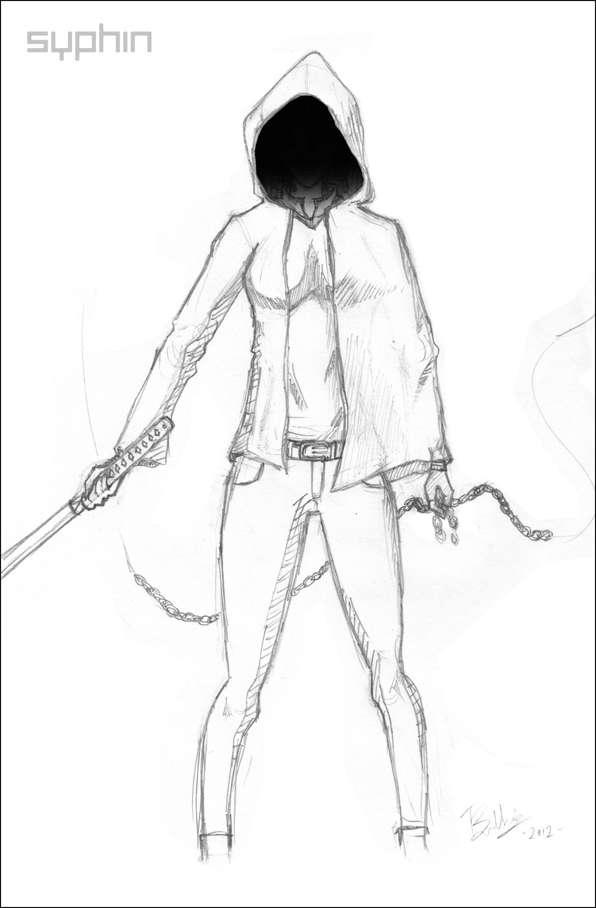 Katana Drawing At Getdrawings