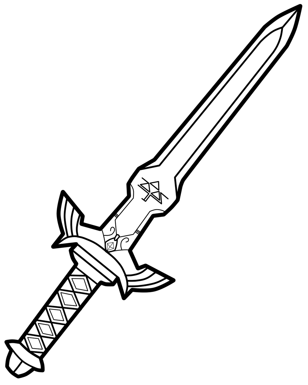 Katana Sword Drawing At Getdrawings